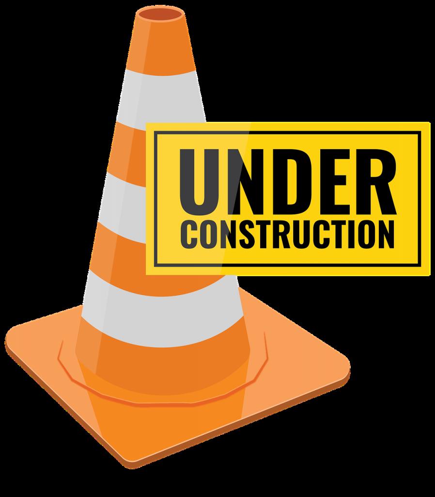 under construction, work, warning